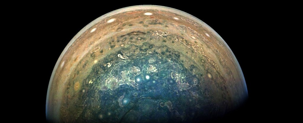 jupiter south pole