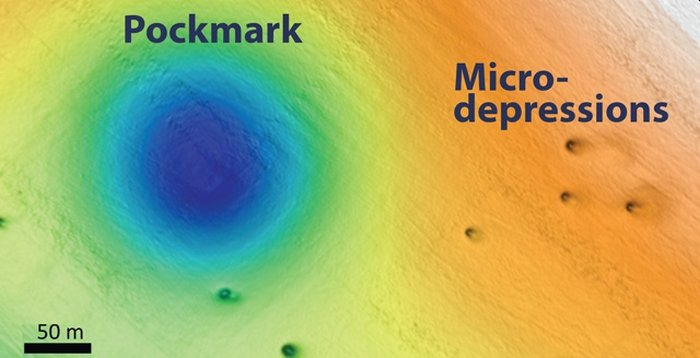 pockmarks and md