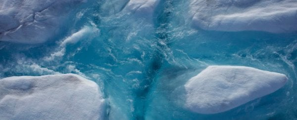 Drones reveal the Greenland ice sheet fracturing in real time