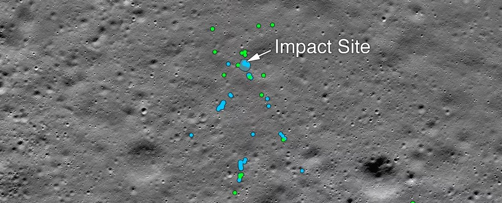 NASA Finally Discovers The Shattered Remnants of India's Lost Moon Lander
