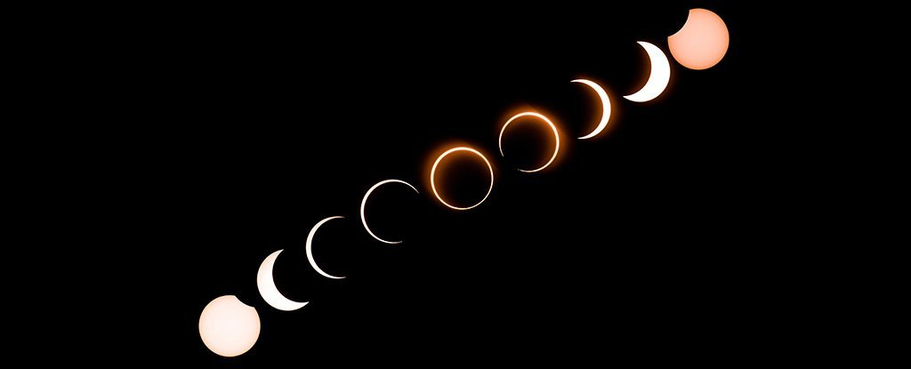 Here's How That 'Ring of Fire' Solar Eclipse Looked Across The World Yesterday