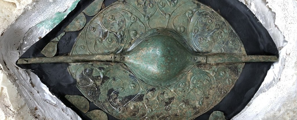 Jaw-Dropping Celtic Warrior Grave Contains Shield Labelled a Find 'of The Millennium'