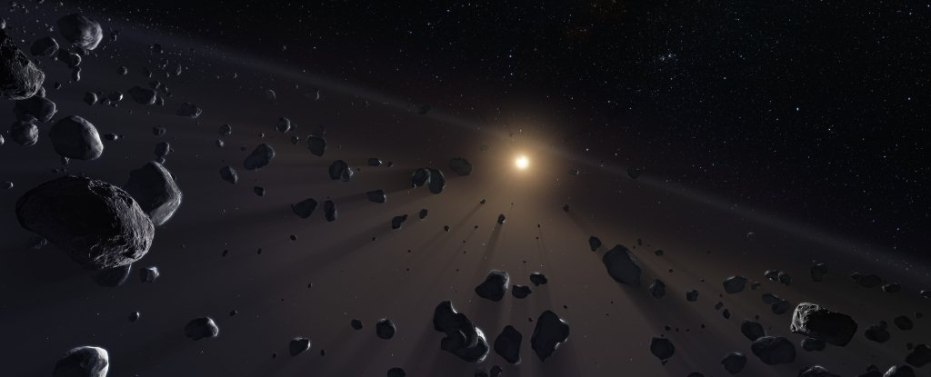Astronomers Have Detected a Familiar Feature in a Far-Away Solar System