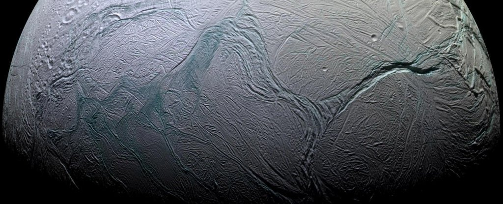 Scientists Uncover The Cause of Mysterious 'Tiger Stripes' on Saturn's Moon Enceladus