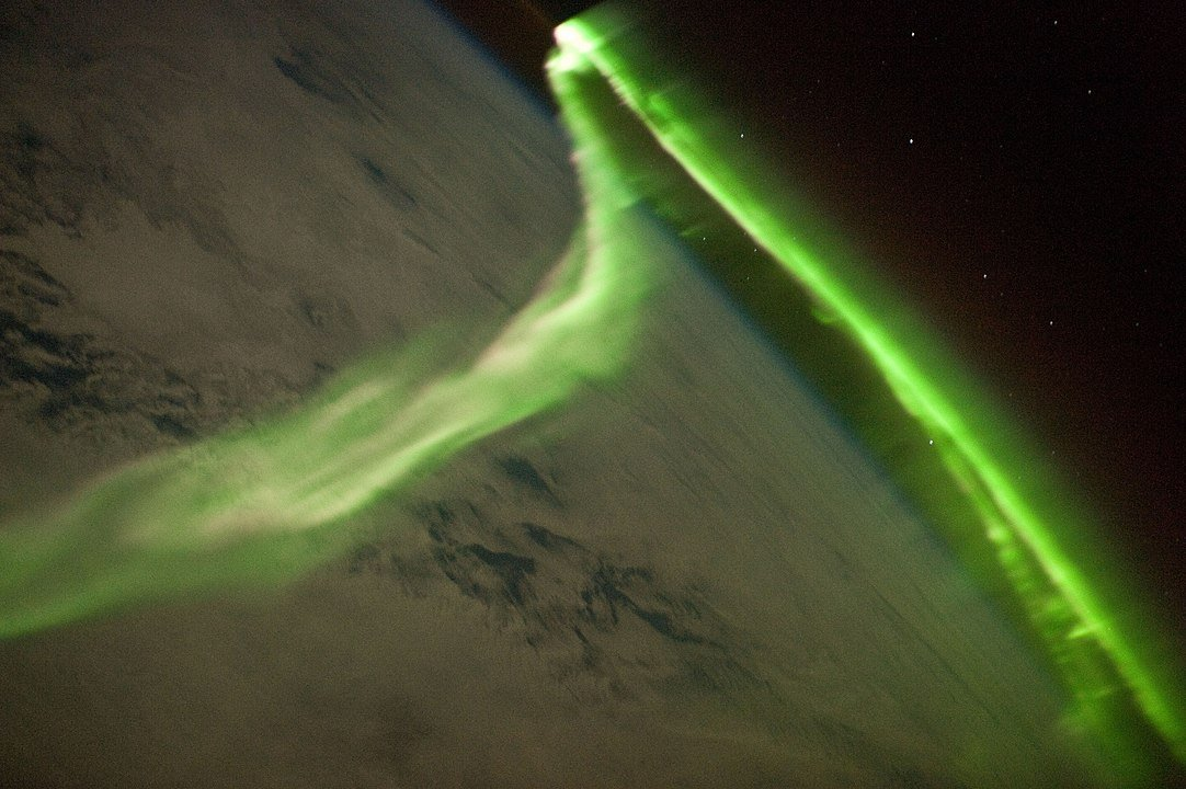 1082px Aurora Australis From ISS