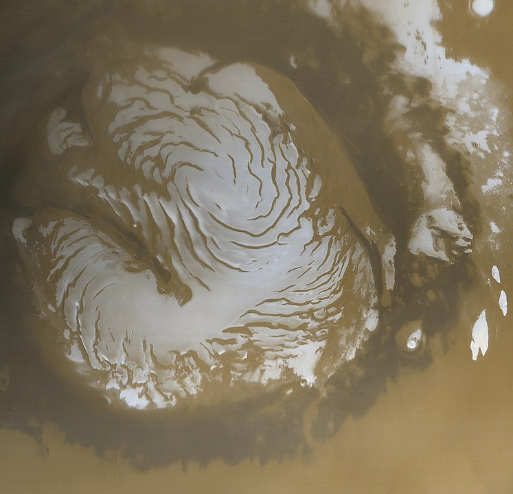 747px Martian north polar cap