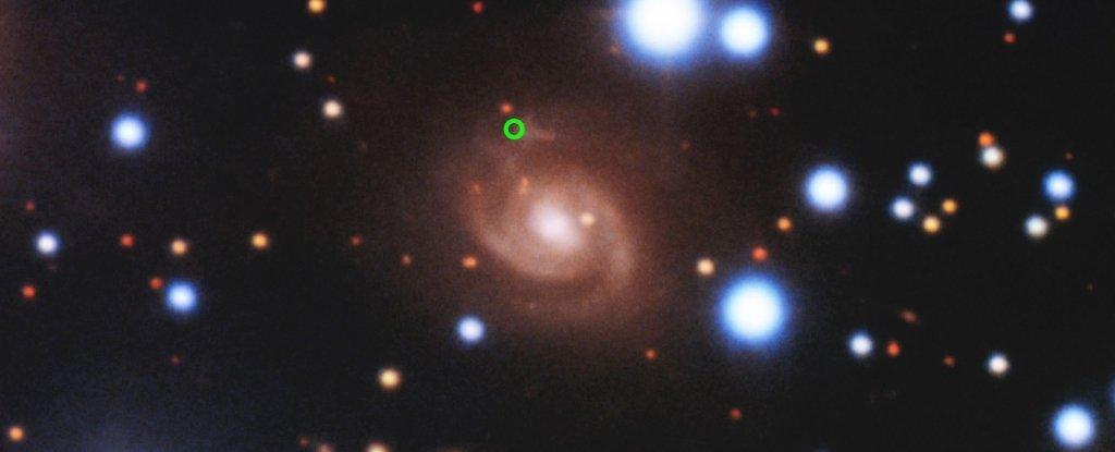 FRB 180916, zdrojová galaxie