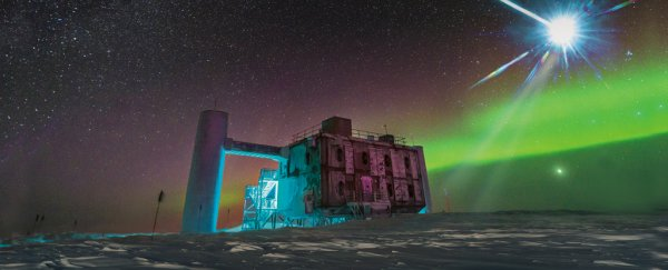Antarctic experiment reveals strange 'ghost' particles that physicists can't explain
