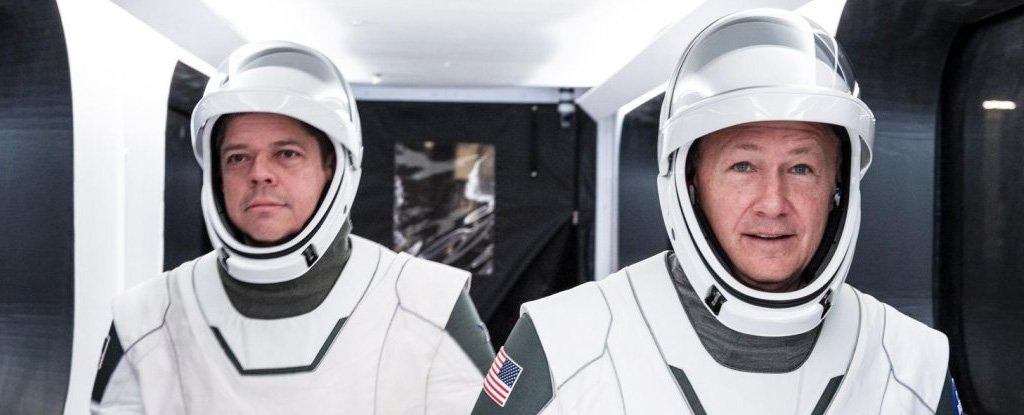 SpaceX Is About to Launch a Historic Mission With Actual People on Board Crew Dragon - ScienceAlert