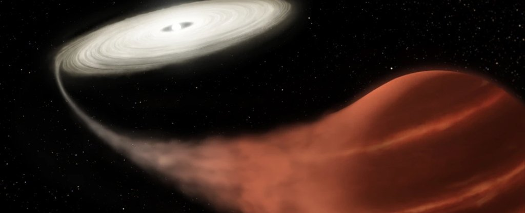 Astronomers Have Caught a 'Vampire' Star in The Act of Draining Its Companion - ScienceAlert