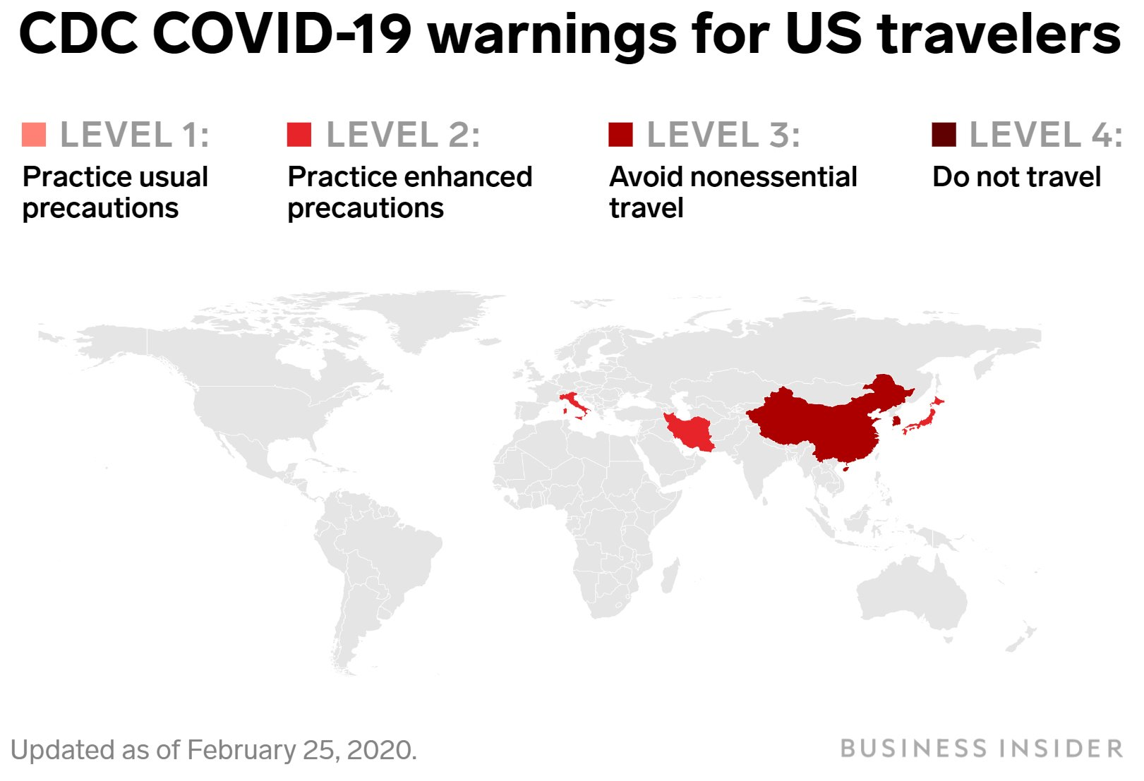 Coronavirus cdc level 3