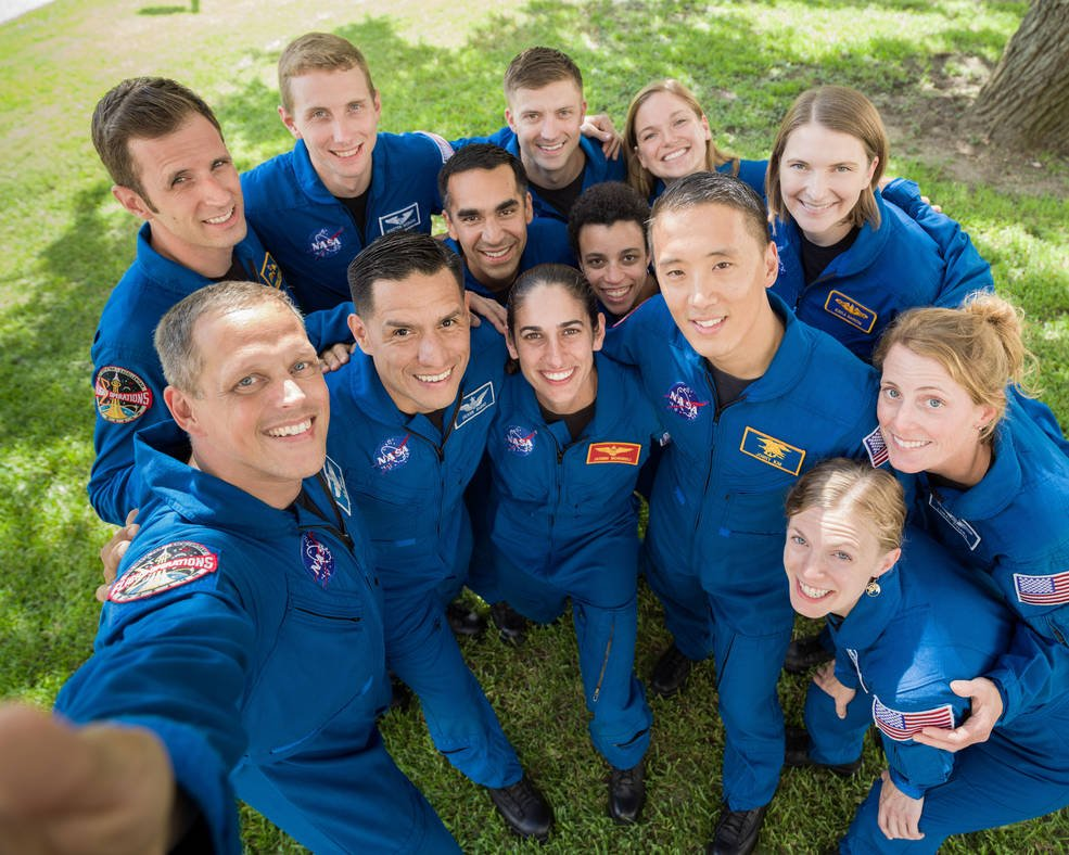 The members of the 2017 NASA Astronaut Class. (NASA/Bill Stafford)