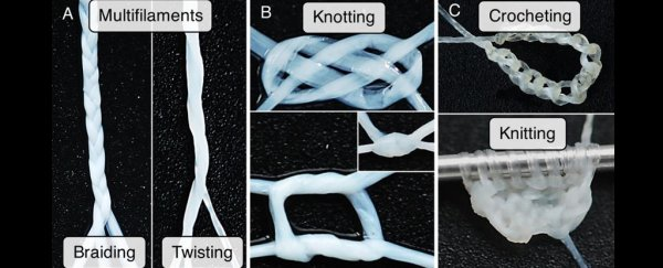 Scientists grow 'yarn' out of human skin cells so they can literally stitch people up