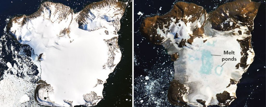 New NASA Photos From Antarctica Reveal Shocking Levels of Ice Melt
