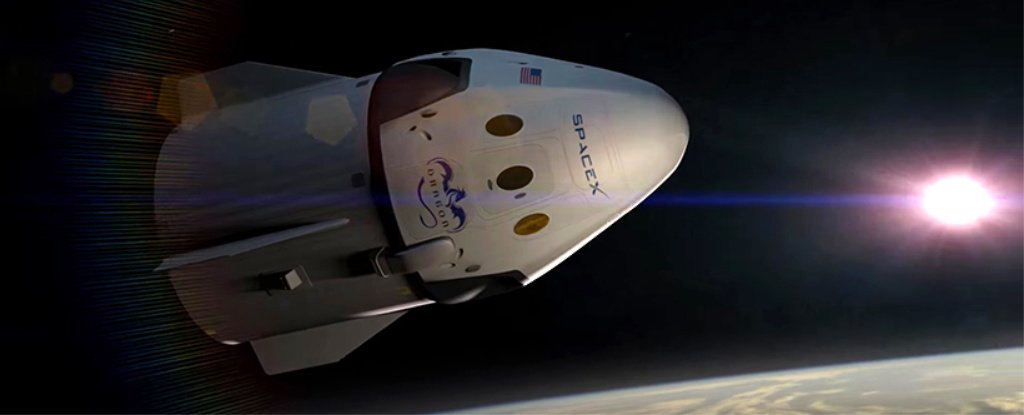SpaceX Just Announced They'll Send Space Tourists Deeper Into Orbit Than Ever Before - ScienceAlert