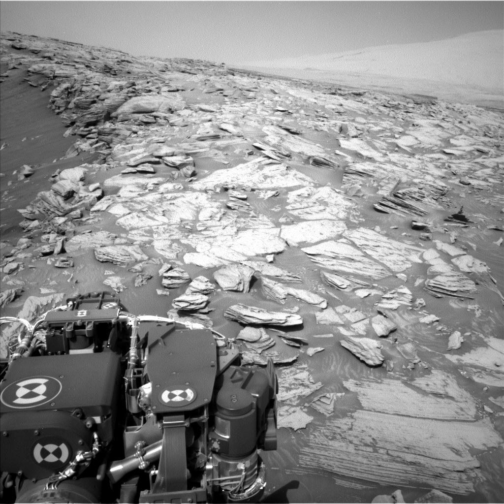 Curiosidad tras la escalada del 6 de marzo. (NASA / JPL-Caltech)