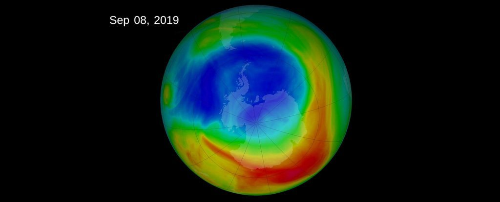 Earth's ozone layer is healing, bringing some good news on global wind movement