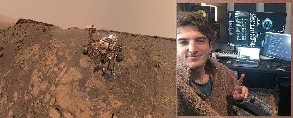 NASA Curiosity Rover on 26 February 2020.