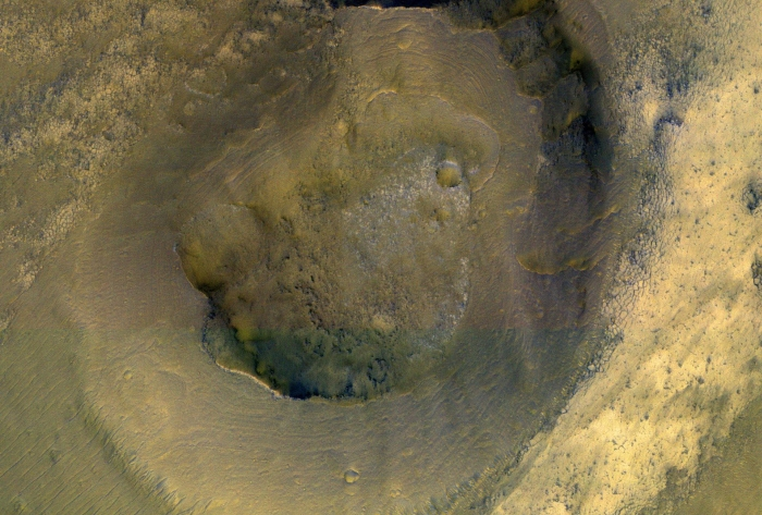Those 'Volcanic Flows' on Mars Might Not Be Lava After All, But Mud
