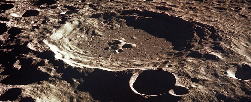 Violent Impacts in The Moon's Ancient Past May Have Melted Vast Tracts of Its Surface