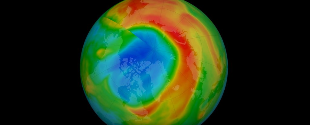 That Unusually Large Ozone Hole Over The Arctic Has Closed Up Again 1