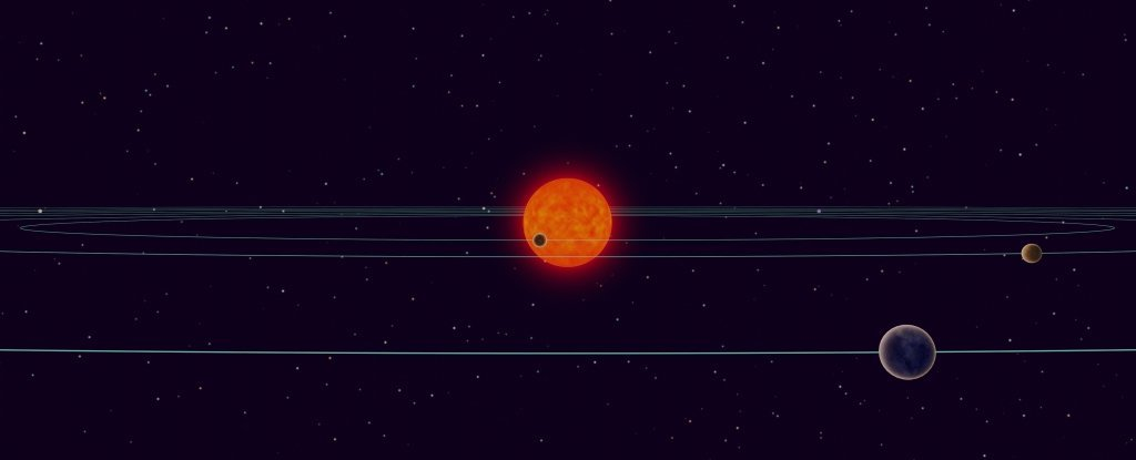 Astronomers Just Found Another Key Way TRAPPIST-1 Resembles The Solar System