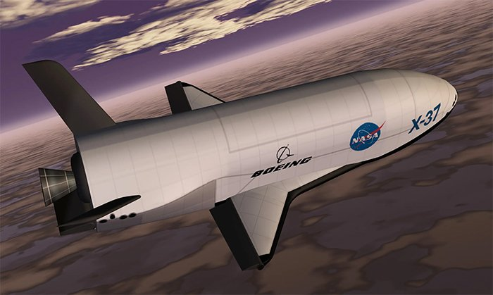 Artist depiction of the x37B