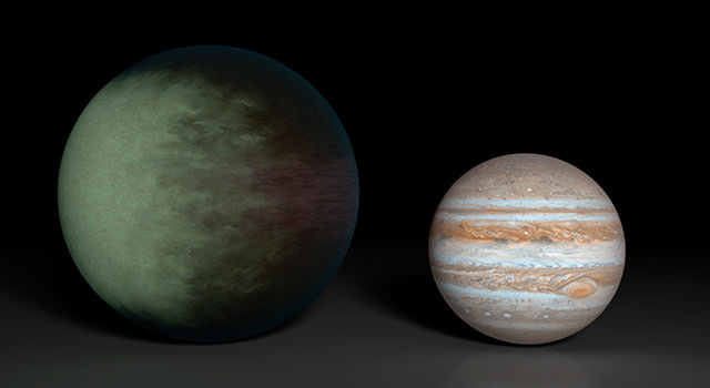 patchy exoplanet