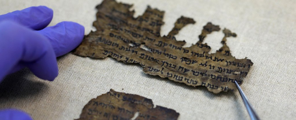 DNA Analysis Reveals Some of The Mysterious Dead Sea Scrolls Were Made Elsewhere