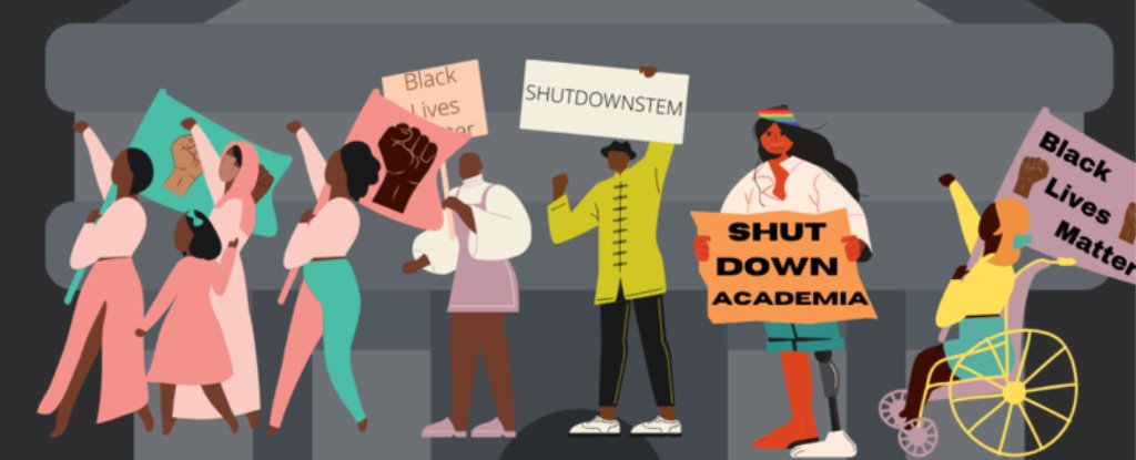 Researchers Are Calling For a STEM Shutdown Today to Fight Systemic Racial Inequality