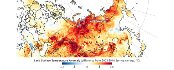 Reports indicate that Arctic temperatures just hit a horrific new heat record