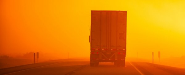 Massive Saharan dust cloud is moving across the US turning skies strange colors
