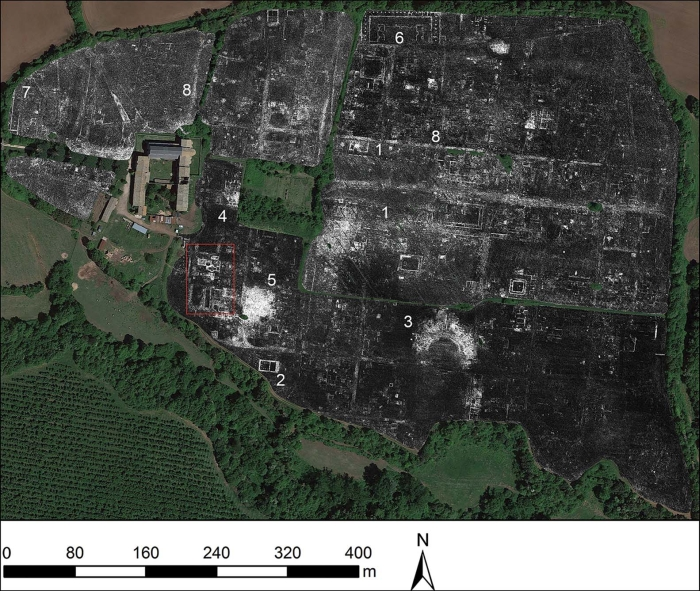 Vast Roman Town Abandoned Centuries Ago Revealed by Ground-Penetrating Radar