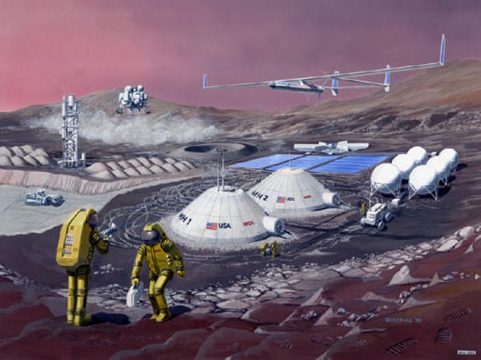 010 mars colony