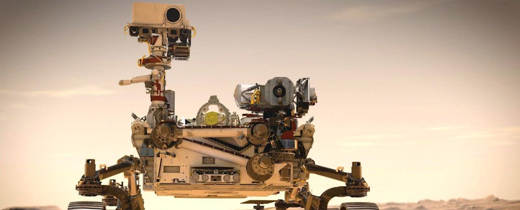 NASA's Rover Is Taking a Tree-Like Device That Converts CO2 Into Oxygen to Mars - ScienceAlert