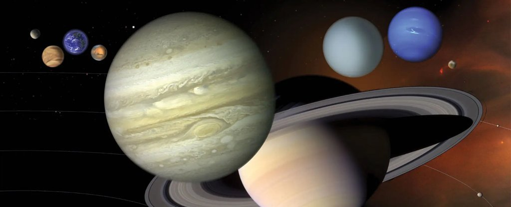 Mesmerising Animation Reveals Our Entire Solar System Doesn't Exactly Orbit The Sun