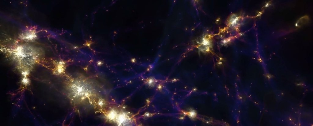 A Giant 'Wall' of Galaxies Has Been Found Stretching Across The Universe