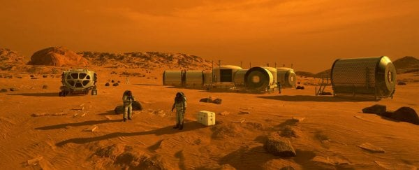 This is how many people you'd need to colonize Mars, according to science