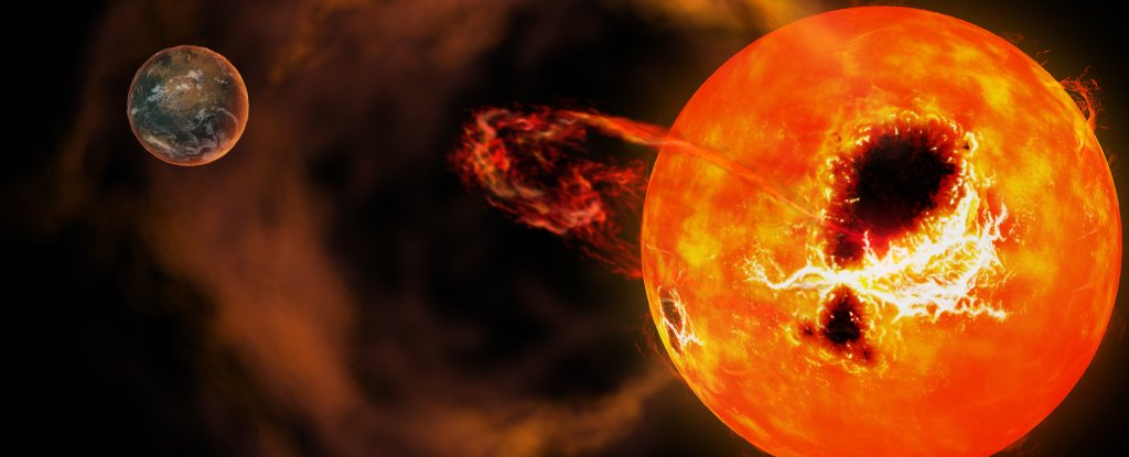 Star's Colossal Superflare Was 20 Times More Powerful Than Those Seen on The Sun