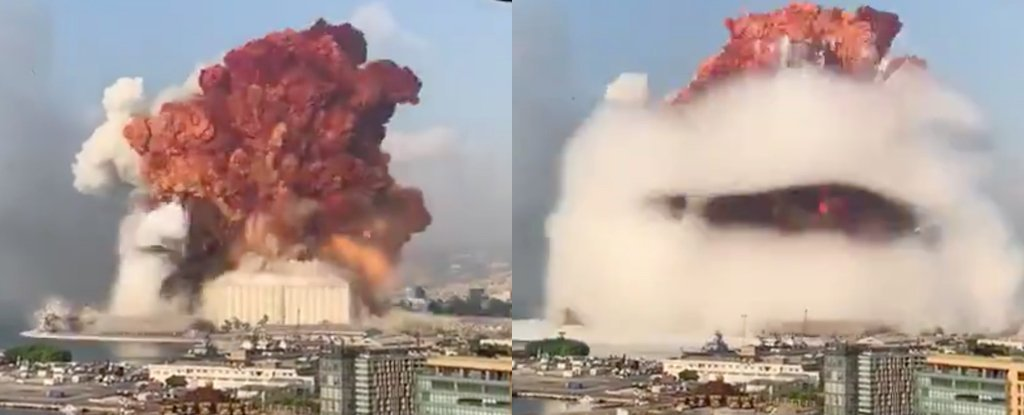 Terrifying Explosion in Beirut Wasn't Nuclear, Experts Say, And ...