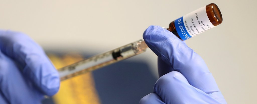 A vaccine currently undergoing clinical trials in Perth, Australia.
