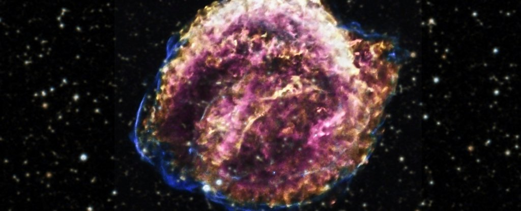 After 400 Years, Debris From This Supernova Is Still Not Slowing Down