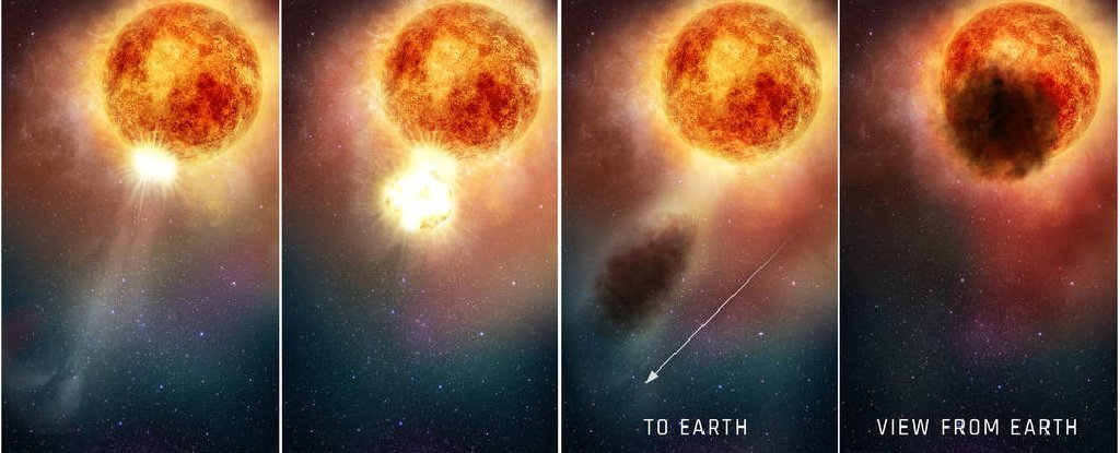 Astronomers Finally Know What Caused That Mysterious Dimming of Betelgeuse