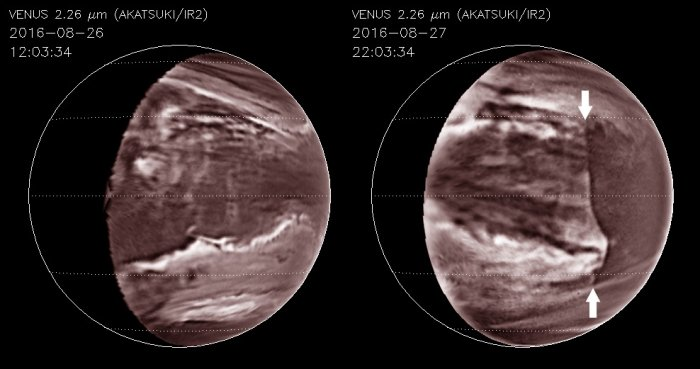 An Epic, Planet-Scale Wave Has Been Hiding in The Toxic Clouds of Venus For Decades