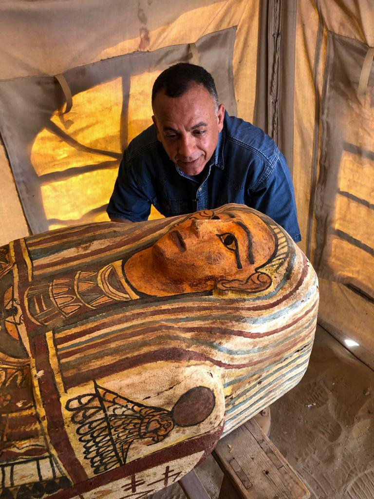 Egyptian Authorities Just Found 14 More Coffins That Have Been Sealed For 2,500 Years