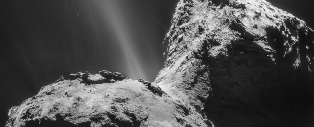 A Strange, Glowing Ultraviolet Aurora Has Just Been Detected Around a Comet