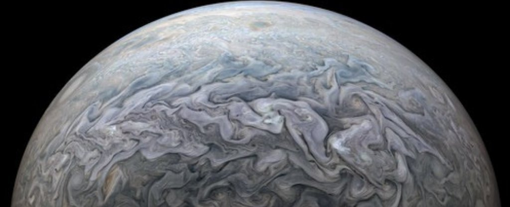The Latest Flyby of Jupiter Has Offered Some of The Most Marvellous Views Yet