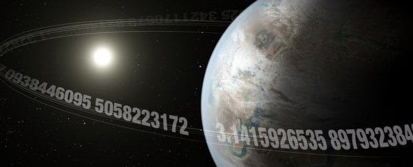 Astronomers discover 'Pi Earth' exoplanet orbits its star once every 3.14 days