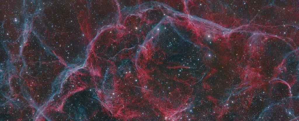 The Vela supernova remnant.
