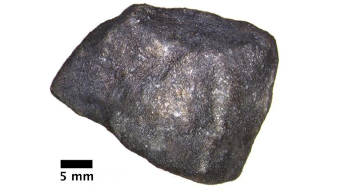 meteorite found on michigan lake